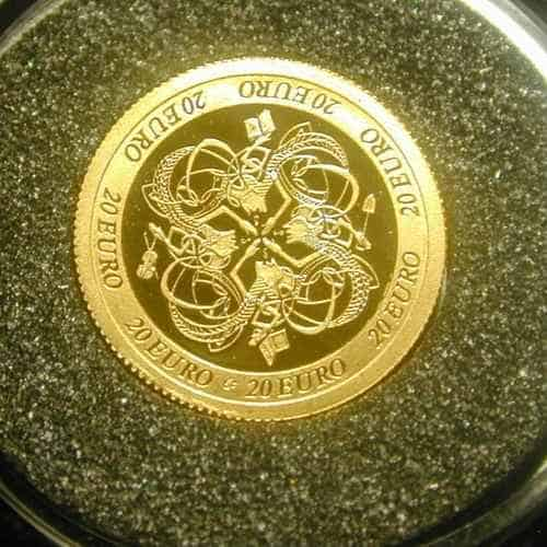 GOLD & SILVER PROOF COIN SET 2007. CELTIC CULTURE.
