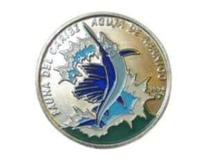 Cuba 1 peso coin