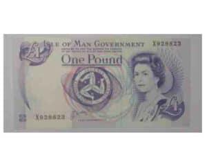Isle of Man Pound Note