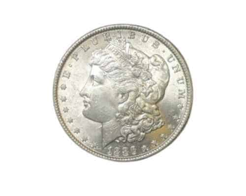 MORGAN SILVER DOLLAR 1886