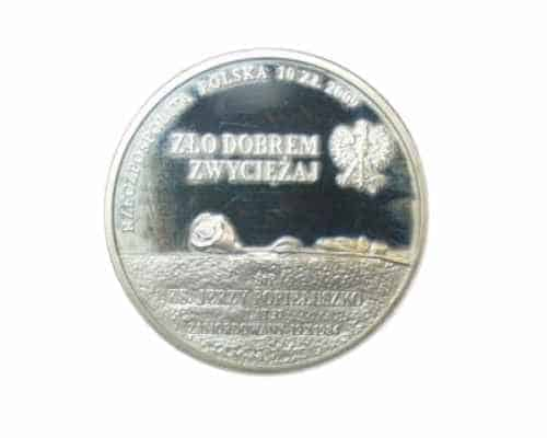 POLAND SILVER PROOF 10 ZLOTYCH 2009